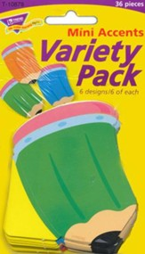 Pencils Mini Classic Accents Variety Pack