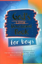 God's Little Devotional Book for Boys