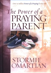 The Power of a Praying Parent Deluxe Edition Hardcover Padded with Ribbon