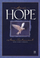 KJV Here's Hope New Testament, paperback, case of 48