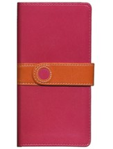 NIV Trimline Bible Limited Edition, Italian Duo Tone, Pink/Orange with Magnetic Closure 1984