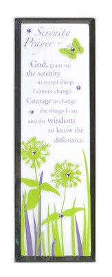Serenity Prayer, Vertical Mirror Plaque