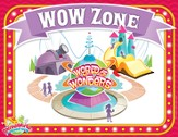 IncrediWorld Amazement Park Bible Lesson Rotation Sign