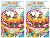 IncrediWorld Amazement Park VBS Bulletin Inserts (Pack of 20)