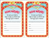 IncrediWorld Amazement Park VBS Volunteer Recruitment  Fliers (Pack of 20)