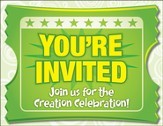 IncrediWorld Amazement Park VBS Closing Program Invitation Postcards (Pack of 40)