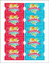 IncrediWorld Amazement Park VBS Promotional Cards (Pack of 100)