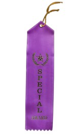 Satin Ribbons: Special Award, Pack of 12