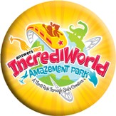 IncrediWorld Amazement Park VBS Logo Buttons (Pack of 10)