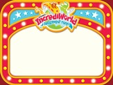 IncrediWorld Amazement Park Nametags (Pack of 60)