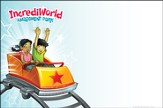 IncrediWorld Amazement Park VBS Outdoor Banner