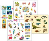 IncrediWorld Amazement Park VBS Variety Sticker Pack (4 Sheets, 3 of Each Sticker Sheet)