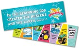 IncrediWorld Amazement Park VBS Days of Creation  Bookmarks (KJV Version; Pack of 10)