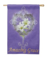 Amazing Grace, Suede Flag, Large