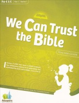 Answers Bible Curriculum Year 1 Quarter 1 Preschool Teacher Guide with DVD-ROM