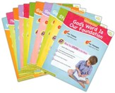 Answers Bible Curriculum Year 1 Quarter 1 Pre-K & K Extra Take Home Sheets (1 Student)