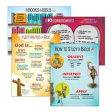 Answers Bible Curriculum Year 1 Quarter 1 Classroom  Posters Set of 3