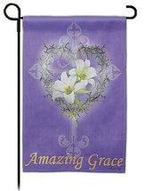 Amazing Grace, Suede Flag, Small