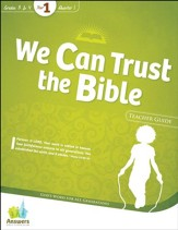 Answers Bible Curriculum Year 1 Quarter 1 Grades 3-4 Teacher Guide with DVD-ROM