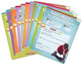 Answers Bible Curriculum Year 1 Quarter 1 Grades 3 & 4 Extra Take Home Sheets (1 Student)