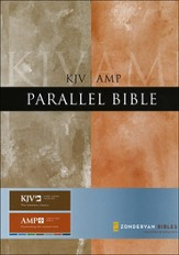 KJV/Amplified Parallel Bible, Hardcover  - Slightly Imperfect