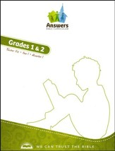 Answers Bible Curriculum Year 1 Quarter 1 Grades 1 & 2 Teacher Kit