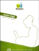 Answers Bible Curriculum Year 1 Quarter 1 Junior High Teacher Kit