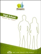Answers Bible Curriculum Year 1 Quarter 1 High School Teacher Kit