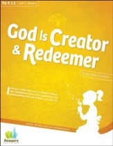 Answers Bible Curriculum: God is Creator & Redeemer Preschool Teacher Guide with DVD-ROM Year 1 Quarter 2