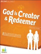 Answers Bible Curriculum: God is Creator & Redeemer High School Teacher Guide with DVD-ROM Year 1 Quarter 2