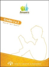 Answers Bible Curriculum Year 1 Quarter 2 Grades 1 & 2 Teacher Kit