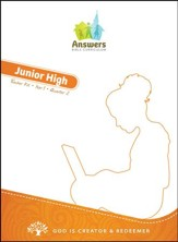 Answers Bible Curriculum Year 1 Quarter 2 Junior High Teacher Kit