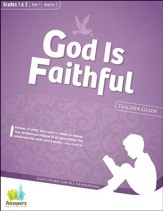 Answers Bible Curriculum: God Is Faithful Grades 1 & 2 Teacher Guide with DVD-ROM Year 1 Quarter 3