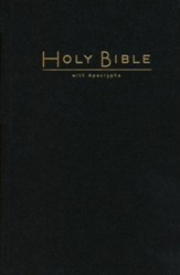 CEB Pew Bible with Apocrypha, Black