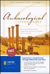 NIV Archaeological Study Bible, Hardcover  1984