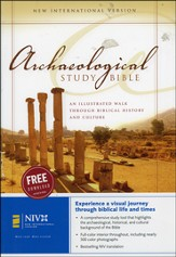 NIV Archaeological Study Bible, Hardcover  - Slightly Imperfect