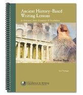 Ancient History-Based Writing Lessons, Third Edition, Student Book