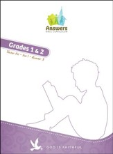 Answers Bible Curriculum: God Is Faithful Grades 1 & 2 Teacher's Kit Year 1 Quarter 3