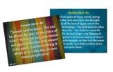 Answers Bible Curriculum: God Is in Control Grades 1-6 Memory Verse Posters Year 1 Quarter 4