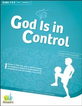 Answers Bible Curriculum: God Is in Control Grades 5&6 Teacher Guide with DVD-ROM Year 1 Quarter 4