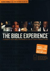 Inspired by...The Bible Experience: New Testament  Audio Bible on MP3 - Slightly Imperfect