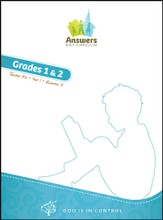 Answers Bible Curriculum: God Is in Control Grades 1&2 Teacher's Kit Year 1 Quarter 4