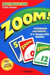 Zoom! Multiplication Card Game