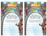 Kingdom Chronicles Volunteer Recruitment fliers (pack of 20)
