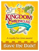 Kingdom Chronicles Save the Date postcards (pack of 40)
