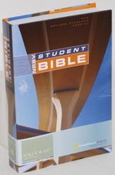 RSV Student Bible, Revised & Expanded Hardcover - Slightly Imperfect