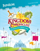 Kingdom Chronicles Junior Teacher Guide (ages 9-12)(includes 1 Teacher CD-ROM)