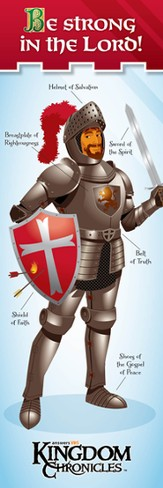 Kingdom Chronicles Armor of God bookmark (pack of 10)