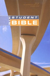 NIV Student Bible, Revised, Compact Edition, Hardcover - Slightly Imperfect