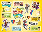Kingdom Chronicles Logo/Daily Phrase sticker sheet (pack of 10)